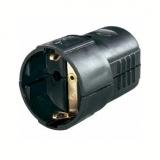 Schukokupplung    16A                            schwarz    Kunststoff