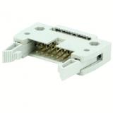 PFOSTEN-VERB.    Stecker    14    pol.    RM    2.54    f.    Flachband