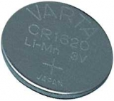 CR1620        Lithium    3V    60mAh    16,0x2,0mm