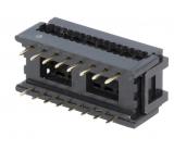 IC-SOCKEL-VERBINDER    DIL16   RM1,27mm    16polig
