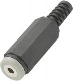 Klinkenkupplung    2,5mm                4pol.