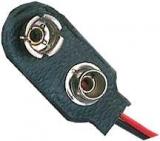 Batterieanschluß    9V    Clip    I-form    Weichplastik