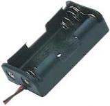 Batteriehalter    2xMignon        AA    flach    mit    Anschlußkabe