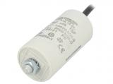 Motorkondensator 16uF/ 450V  35x78mm mit Kabel