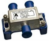 F-Verteiler 2,5/6db TAP 5-1000MHz terrestisch