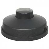 Fußschalter 250V/6A 1pol. mit Gehäuse schwarz rund