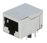 MODULAR-Printbuchse 8/8 RJ 45 Metall