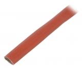 Gewebeschlauch hitzebeständig elektroisolierend 5mm Glasseide