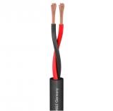 Lautsprecherkabel 2x2,5mm PVC DM 7,8mm schwarz
