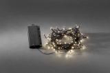 Lichterkette Led 120 Leds innen/außen Timer, Batterie 4xMono