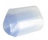 Schrumpfschlauch 72mm flach DM 45mm transparent/Meter