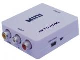 Cinch auf HDMI Konverter 3xAV Cinchbuchsen 1xHDMI Buchse
