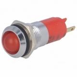 Signallampe    LED    rot                        24...28V    DC/AC    Ø14.2mm