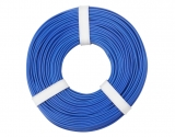 Litze 0,25 1 pol. blau 10m