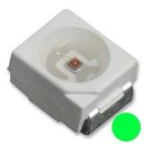 LED SMD grün PLCC2 2x1.4mm 20MA 3.5V 1000-2300mcd