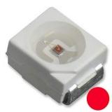 LED SMD rot PLCC2 2x1.4mm 20mA 2.4V 230-530mcd
