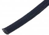 Gewebe-Flechtschlauch 14-18mm Polyester Schwarz