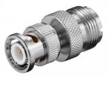 PL-Buchse (UHF) ->BNC Stecker