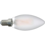 E14 230V 5W Led matt 450lm Kerzenlampe dimmbar
