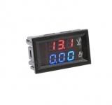 Digital Dual Volt-/ Amper Einbaumodul 0-100V 0-10A