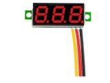 LED Voltmeter-Modul 0-30V, 3-stellig