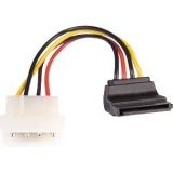 SATA Stecker gewinkel auf 4pol.Molex Powerstecker