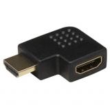 HDMI Winkeladapter Stecker-Kupplung 90°