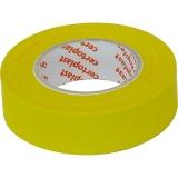 Isolierband Gewebe 10m 19mm gelb