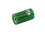 Spielwarenkupplung grün 2.6 mm schraubbar