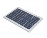 Solarzelle 10W 12V poly MAX 18,2V 354x251x17mm