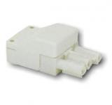 Leuchtenverbinder    Stecker3pol.    230V/16A    bis    2,5mm