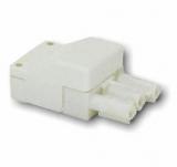 Leuchtenverbinder    Buchse    3pol.    230V/16A    bis    2,5mm