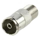 F-Adapter    F-Kupplung                    ->Koaxkupplung