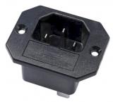 Kaltgeräteinbau    Stecker    +Sicherungshalter