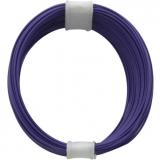 Litze    0,04    1pol.    violett    10m