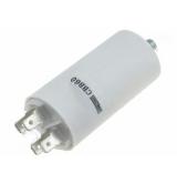 Motorkondensator                                    8,0uF/450V    Faston    6,3mm