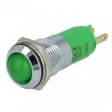Signallampe    LED    grün                    12...14V    DC/AC    Ø14.2mm