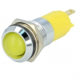 Signallampe    LED    gelb                    12...14V    DC/AC    Ø14.2mm