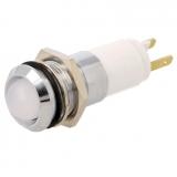 Signallampe    LED    weiss                12...14V    DC/AC    Ø14.2mm