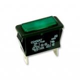 Signallampe    250VAC                            30x14mm    grün