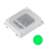 Led    SMD    grün    5100mcd    120°3,8V    60mA    PLCC2