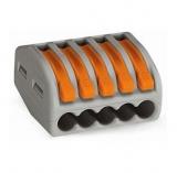 WAGO    Verbindungsklemmen        5pol.    0,08-4mm²    flex/stei