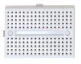 Experimentierboard    2x170    Kontakte    weiß
