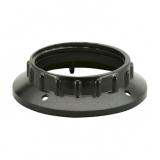Lampenfassungs-Ring    E27        schwarz