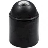 Lampenfassung    E27    glatt        schwarz