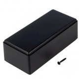 Gehäuse    ABS    schwarz                        54x121x42mm