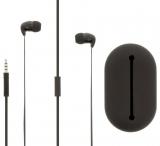 Headset Flachkabel im Ohr 3.5 mm verdrahtet Integriertes Mikrofon 1.2 m Schwarz