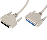 Kabel    SubD    25St/SubD    25Ku2m    1:1