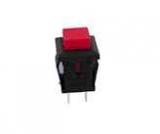 Taster    Ein(Aus)    Rot                        1A/125V    Quadratisch