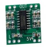 Verstärker    2x3W    Platine        Class-D    Stereo    2,5..5    VDC